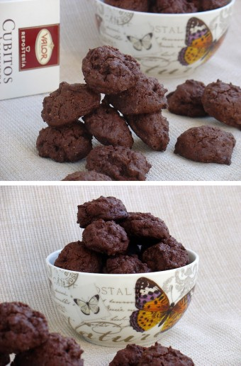 Galletas de doble chocolate