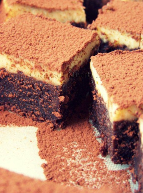 Chocolate Brownie Cheesecake