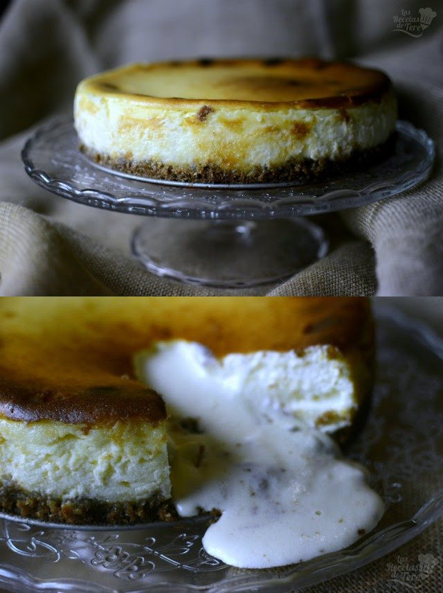 Cremoso y fácil cheesecake coulant